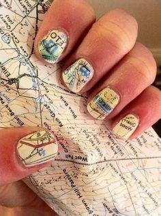 #nails #nailart #naildesign #nagel #nagellack #nail #nailpolish #nageldesign #fingernagel #map #karte