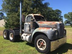 1963 Antique Mack Model B61 Truck Tandem Axle Thermodyne 711 Engine Cab/Chassis