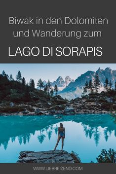 Hiking: Lake Sorapis in Italy - LOVELY - Hike to Lago di Sorapis in South Tyrol and bivouac in the South Tyrolean Dolomites. Camping And Hiking, Outdoor Camping, Outdoor Travel, Checklist Camping, Camping Ideas, Trailers Camping, Oahu, Hiking Supplies, Lakes