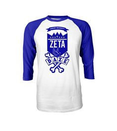 The Zeta School Daze Raglan is a premium piece from our inspired school daze collection. Our school daze collection represents the roots of our organizations and the early days back on the yard. - 5.8