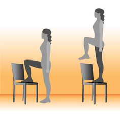 Best Exercises For Saddlebags: Step Ups (intermediate/advanced) / 20 times / switch legs