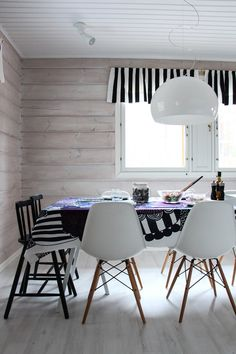 diningroom eames ikea kartell scandinavian marimekko siirtolapuutarha