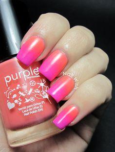 Nail Wish: Esmaltes Purple Professional