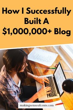 This is How I Successfully Built A $1,000,000+ Blog. You can hopefully learn from me and not only take the next step to get your blog up and running, but actually turn a profit with your writing. Read on to find out how!