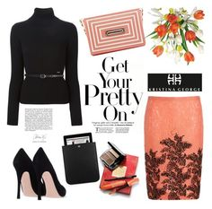 """Get your pretty on"" by helenevlacho ❤ liked on Polyvore featuring N°21, Dsquared2, Yves Saint Laurent, Avon and kristinageorgehandbags"