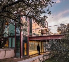 The Hidden Pavilion in Madrid, Spain by Penelas Architects   Yellowtrace