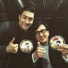Jackie Chan Admits He's Jealous Of Super Junior's Siwon During 'Dragon Blade' Promotions In Taiwan - http://asianpin.com/jackie-chan-admits-hes-jealous-of-super-juniors-siwon-during-dragon-blade-promotions-in-taiwan/