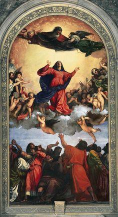 Tiziano Vecellio _ Assunta, 1516 - 1518 (Santa Maria Gloriosa dei Frari, Venezia)
