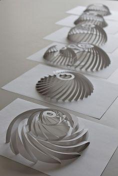 CutPaper 3D Domes.. .