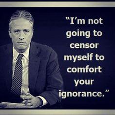 Jon Stewart...love it