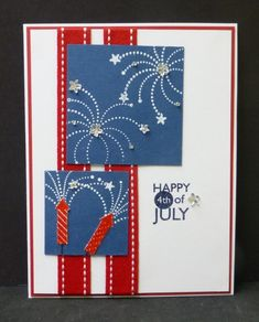 SC438 Happy 4th of July by hobbydujour - Cards and Paper Crafts at Splitcoaststampers