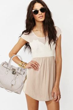 Michael Kors Hamilton Ostrich Embossed Tote Bag Beige