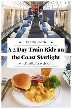 The Coast Starlight is an inexpensive train trip between Los Angeles and Seattle, that takes just under 2 days, one way. Usa Travel Guide, Travel Usa, Travel Guides, Travel Tips, Travel Hacks, Travel Packing, Travel Essentials, Budget Travel, Europe Budget