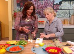 Sara Moulton shows you how to chill and store eggs, cheese, fruits and vegetables so you can stock up on your favorite items and stretch your grocery dollars!