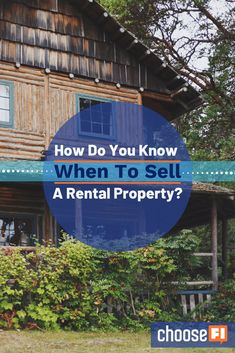 How Do You Know When To Sell A Rental Property? Real estate investing can be a great part of your portfolio, but you only realize the gains when you sell. See how we have outlined the ins and outs of the selling process. Property Real Estate, Real Estate Investor, Selling Real Estate, Rental Property, Return On Equity, Property Design, Retirement Planning, Property Management, Being A Landlord