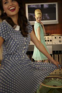 Dance in Shabby Apple Dot Dresses