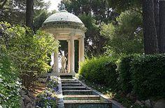 Temple of Love, Villa Ephrussi De Rothschild, St. Jean Cap-Ferrat, France