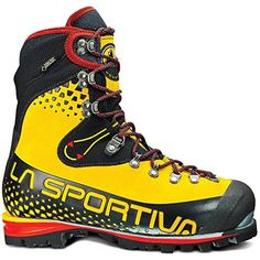 La Sportiva Nepal Cube GTX Boot Yellow  Black 405 *** Click image for more details.