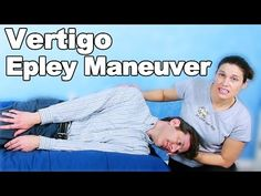 Epley Maneuver for Vertigo - Ask Doctor Jo - YouTube