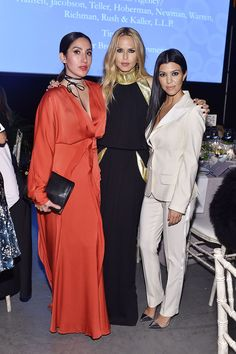 C Social Front. Baby2Baby Gala 2015 -- Jen Atkin, Rachel Zoe & Kourtney Kardashian