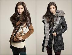 Park Han Byul endorses 'BLU PEPE's winter apparel line