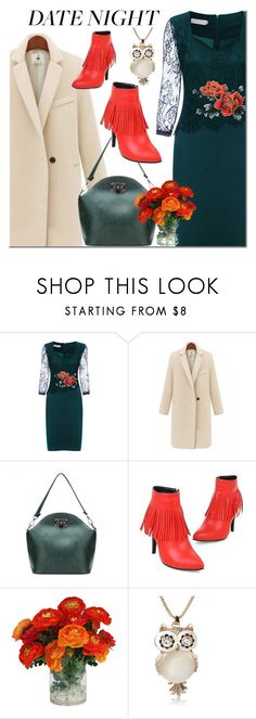 """""""NEWCHIC date night"""" by mada-malureanu ❤ liked on Polyvore featuring GetTheLook, DateNight and lovenewchic"""