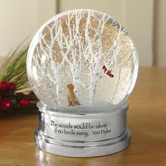 Just found this Holiday Dog Snow Globe - Lab in the Woods Snow Globe -- Orvis on Orvis.com!