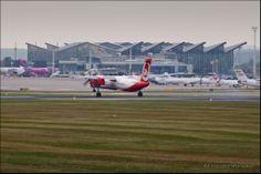 photo: Krzysztof Wiśniewski / #airplane #plane #epgd #gdansk #airport #airberlin