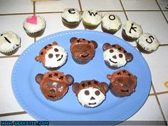 Ewok Cupcakes from geekstir.com
