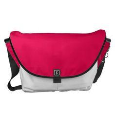 Pink White Black Large - Rickshaw Messenger Bag