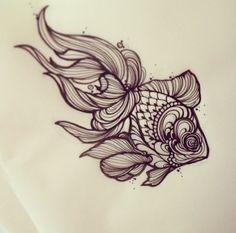 little fish tattoo - Pesquisa Google