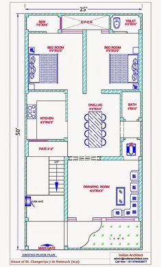 House Plan 25 X 50 Luxury 28 [ House Map Design 25 X 50 ] Of House Plan 25 X 50 Beautiful East Facing House Plans for Site 5 Marla House Plan, 2bhk House Plan, 3d House Plans, Model House Plan, Indian House Plans, House Layout Plans, Simple House Plans, Bungalow House Plans, Bedroom House Plans