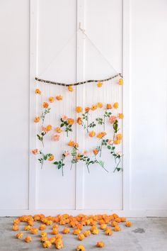 Flower Wall Backdrop, Hanging Flower Wall, Wall Backdrops, Floral Backdrop, Backdrop With Flowers, Backdrop Wedding, Diy Backdrop, Bulk Silk Flowers, Fake Flowers