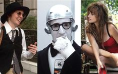 (L-R): Annie Hall, Sleeper and Vicky Christina Barcelona