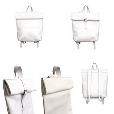 THE COLLECTION - Rollitbags Polino white - Now available at www.meesdesign.nl  #mees #handmade #leatherbags #rollitbag #ladies #men #backpack #bags #instafashion #design #leatherbags #conceptstore #ootd #premierevision #fashion #store #pittiuomo #clothing #minimal #highsnobiety #onlineshopping #fashionadict #tradeshow #fashionblogger #fashionweek #capsuleshow #seekberlin #whitetradeshow #agendashow #libertyfairs #tranoi White Now, Trade Show, Backpack Bags, Leather Bag, Minimal, Ootd, Backpacks, Store, Clothing