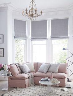 Rose Quartz & Serenity Sofa.com