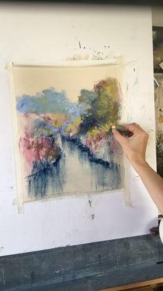 Bethany Fields pastel timelapse