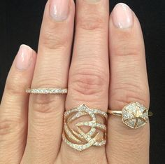 SW Rose Gold Ring party.  Instagram @stephenwebsterjewellery