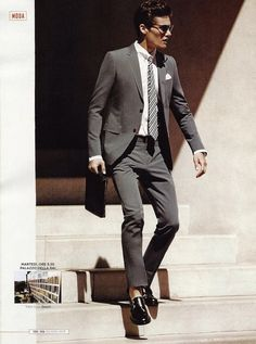 Gucci gray suit