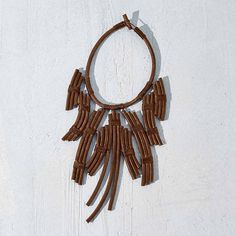 Tribal-Butterfly-Necklace-Tan
