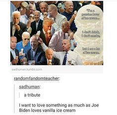 I LOVE ICE CREAM MORE THAN JOE BIDEN LOVES ICE CREAM//FIGHT ME OLD MAN
