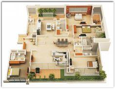 Diseños de casas en 130 metros cuadrados