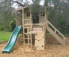 Cute Playhouse Idea #kidsplayhouseplans