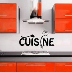 Français Proverbes cuisine pvc stickers muraux décor peint Décoration de la maison -1038 Fond d'écran