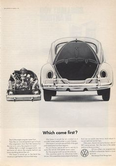 "1966 VW Volkswagen Station Wagon ""Which Came First """