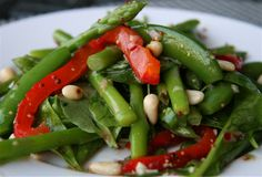 Christmas dinner green vegetables   Green Bean and Asparagus Salad   The Culinary ChaseThe Culinary Chase