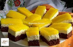 Fanta szelet egyszerűen Recept képpel - Mindmegette.hu - Receptek Cake Cookies, Sushi, Cheesecake, Fruit, Ethnic Recipes, Shake, Image Search, Foods, Dance