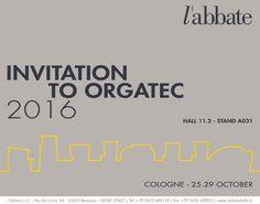 INVITATION - Orgatec 2016. Cologne, Company Logo, Invitations, Logos, News, Save The Date Invitations, Logo, Invitation, Legos
