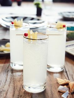 Get Ginger Spritz Recipe from Cooking Channel Dinner at Tiffani's Asian Inspiration