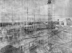 Michael Wesely Photographie - potsdamerplatz